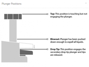 Plunger Positions