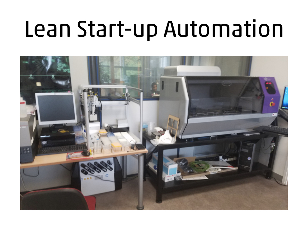 Lean Startup Automation