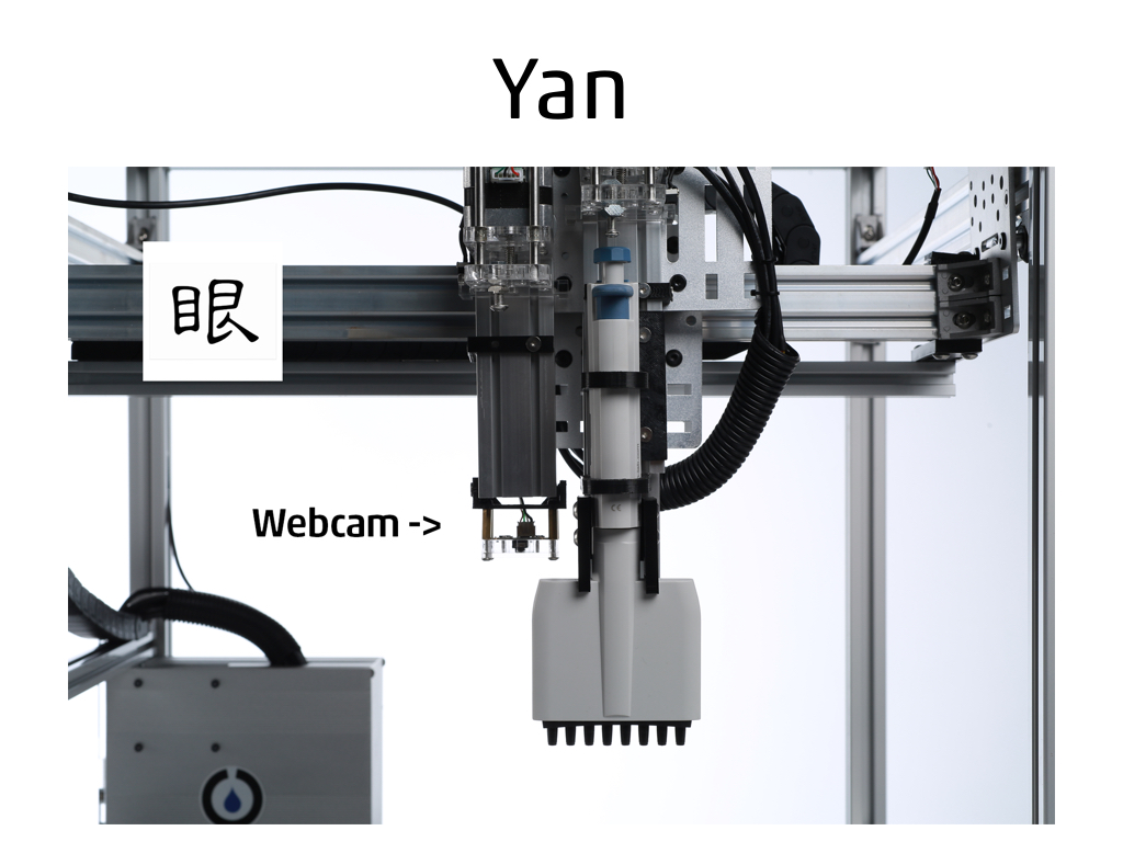 Yan - selling a software product on Opentrons' platform