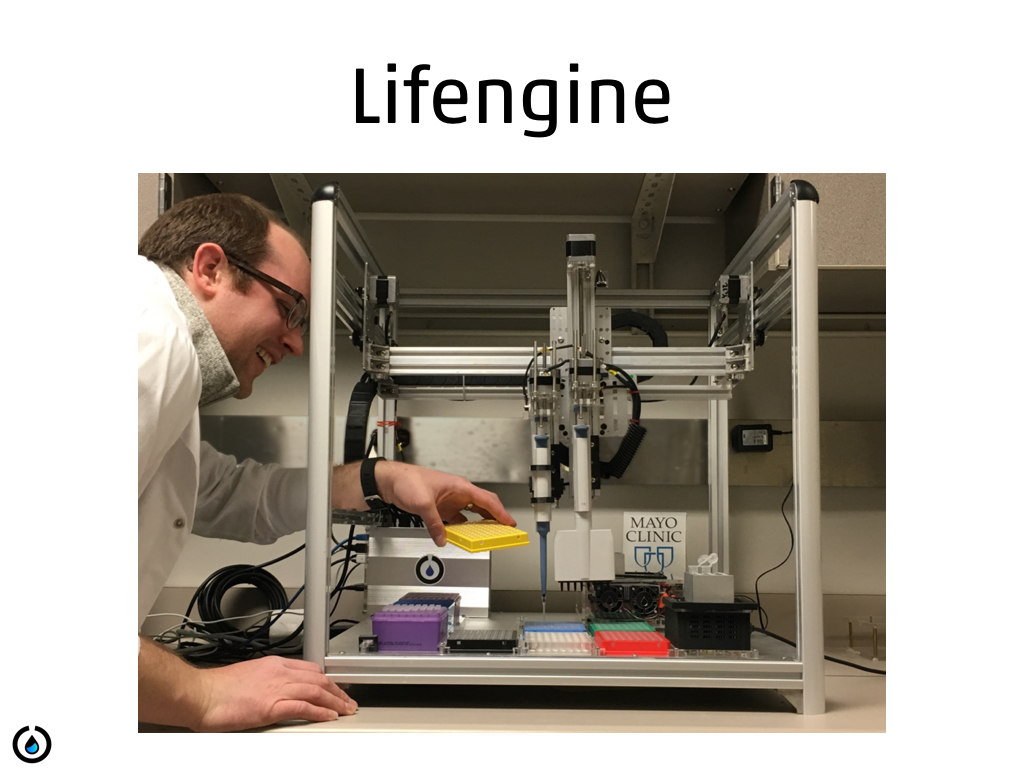 Lifengine - selling a reagent product on top of Opentrons' platform