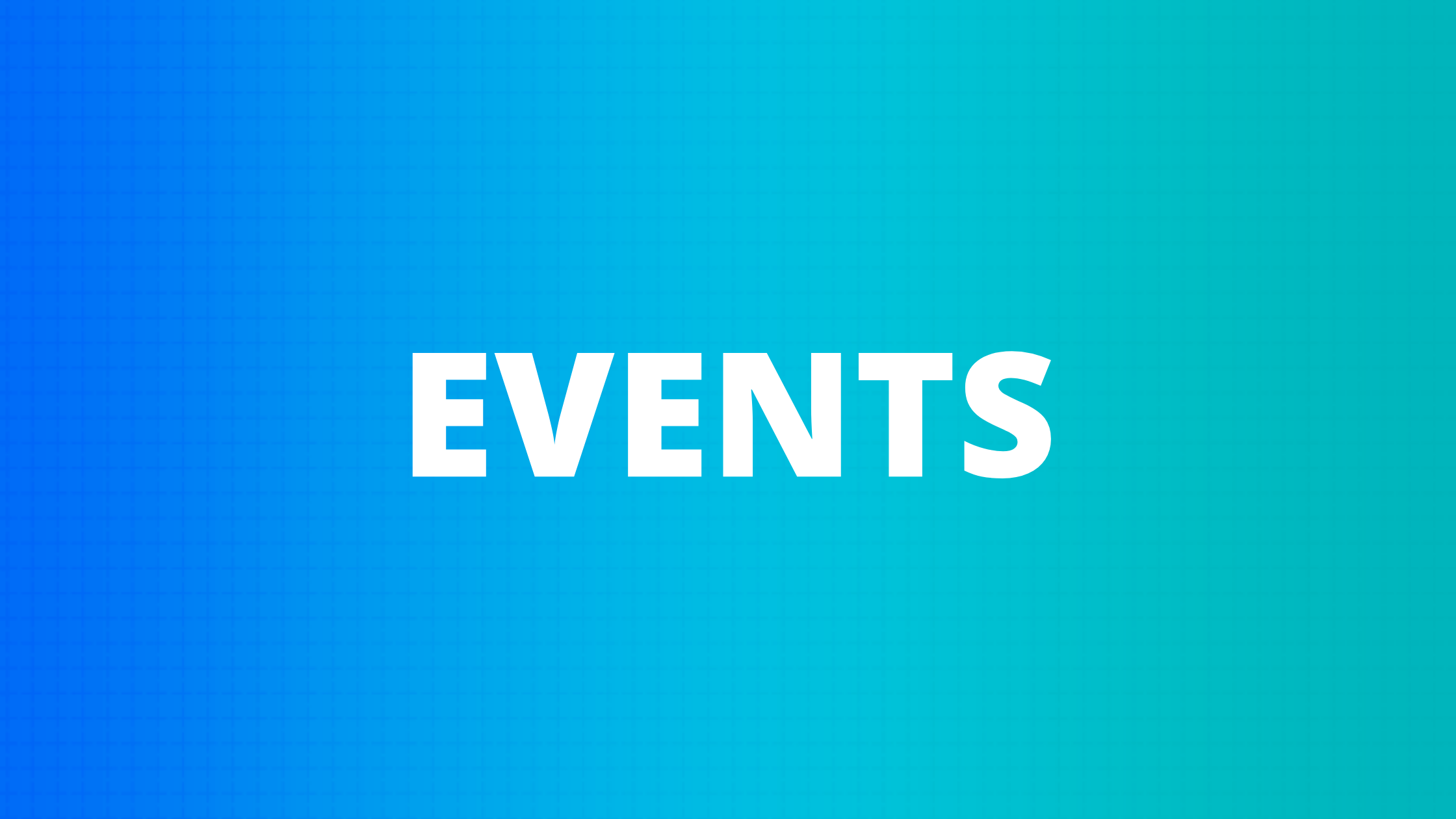 Opentrons Events: 2021
